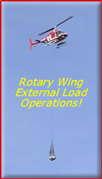 Rotary Wing External Load Operations!